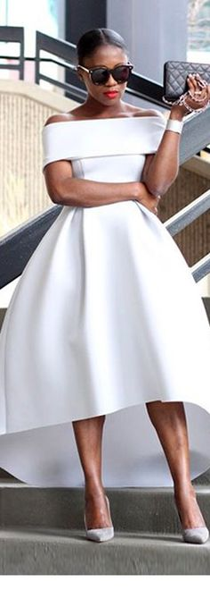 Prom Dress White Hi-lo Strapless Satin Party Dress Prom Gowns Evening Dress White Satin Prom Dress Prom Dresses sold by cutebridal. Buy more products from the shop in a cute little shop around the world. White Fashion, Look Fashion, Womens Fashion, Dress Fashion, Latest Fashion, Fashion Trends, Fashion Spring, Party Fashion, Fashion Styles