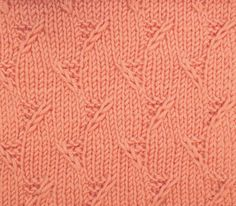 "Garter Stitch Triangels is another great ""all over"" textured stitch when you don't want something lacy. You'll find it in the Bobbles & Slip Stitches category."