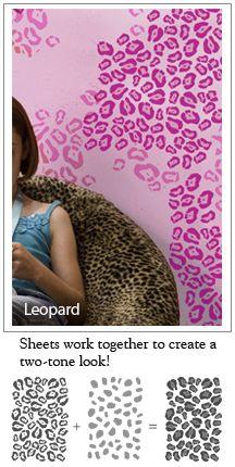 Cheetah Spot Heart Vinyl Wall Decal Sticker Cheetah Print | Homes |  Pinterest | Wall Decal Sticker, Cheetah Print And Cheetahs