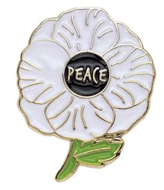 #peace #pins #pingame #pingamestrong #flower #peacepins #worldpeace #enamel #colours #design