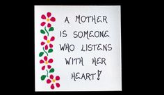 Mother Magnet  Quote about mom and heart by TheMagnificentMagnet,