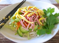 Love this recipe!!! Aunty Ruby's Somen Salad from my lilikoi kitchen ~ :. keeper