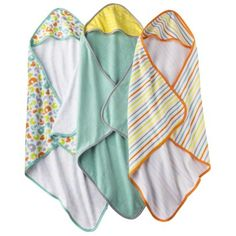 Soft hooded towels for your newborn