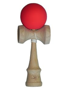 Amazon.com: 5K Kendama - Red Ruggedized Rubber Paint, Extra String Included: Toys & Games
