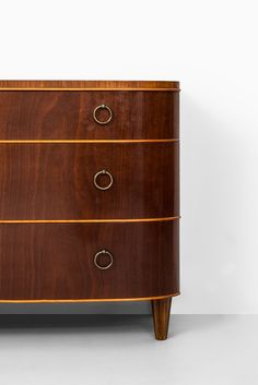 Axel Larsson bureau in mahogany at Studio Schalling