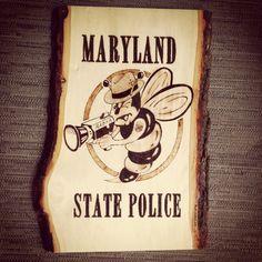 Maryland State Police Radar Bee