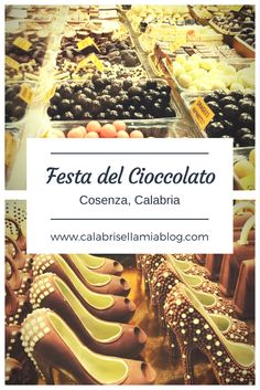 A chocolate-filled weekend in Cosenza. We are recapping this delicious event with photos and videos.