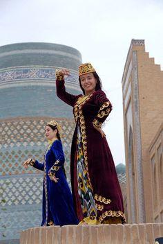 Traditional Dancing - Khiva, Uzbekistan