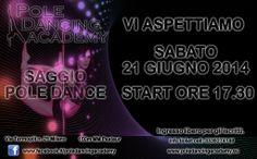 Pole Dancing Academy saggio 21 giugno 2014 Milano