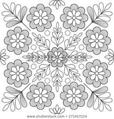 Find Beautiful Folk Art Motif stock images in HD and millions of other royalty-free stock photos, illustrations and vectors in the Shutterstock collection. Thousands of new, high-quality pictures added every day. Floral Embroidery Patterns, Mexican Embroidery, Crewel Embroidery Kits, Hungarian Embroidery, Learn Embroidery, Embroidery Designs, Chain Stitch Embroidery, Embroidery Techniques, Fabric Painting
