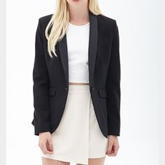 *LOWEST* F21 Black Blazer Perfect condition Forever 21 Jackets & Coats Blazers