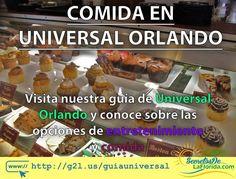 En Universal Orlando Resort hay múltiples opciones para comer y entretenerse todo el día. En esta guía te contamos algunas de las tantas opciones que encontrarás en este complejo temático ==> http://g2l.us/guiauniversal