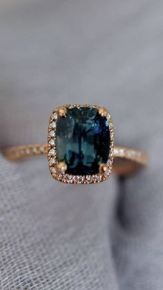 Colored Engagement Rings, Gemstone Engagement Rings, Rose Gold Engagement Ring, Vintage Engagement Rings, Halo Engagement, Unique Rings, Gold Jewelry, Antique Jewelry, Jewellery