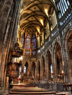 St. Vitus Cathedral, - Prague