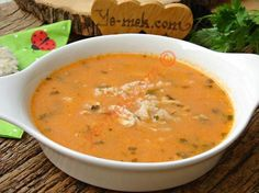 Thai Pumpkin Soup 8 ingredients, 10 minutes of cook time, and full of flavor! Rice Recipes, Soup Recipes, Chicken Recipes, Thai Pumpkin Soup, Turkish Recipes, Ethnic Recipes, Chicken Rice Soup, Vegetarian Menu, Food Illustrations