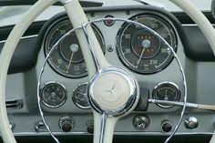 Vintage Mercedes cockpit