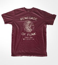 Renegade of Funk T-Shirt - A THOUSAND WORDS