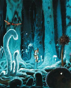 Nausicaä of the Valley of the Wind (Nausicaä de la Vall del Vent) is a 1984 Japanese animated post-apocalyptic fantasy adventure film written and directed by Hayao Miyazaki, based on his own 1982 manga of the same name.