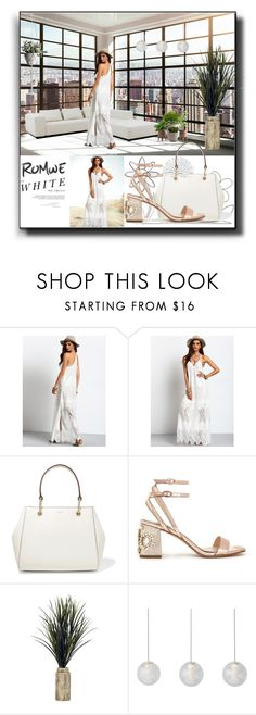 """""""City White"""" by kelly-floramoon-legg ❤ liked on Polyvore featuring Madara, DKNY, Miss Selfridge and Resident"""