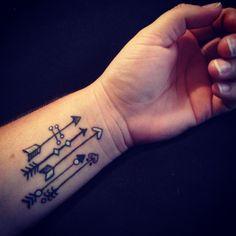 My Arrow Tattoo ❤️✌️