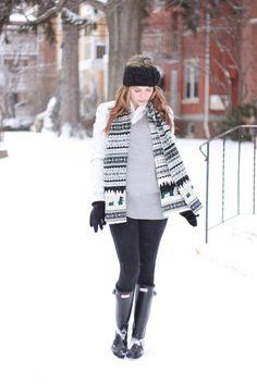 winter attire #hunter