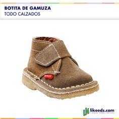 Botita de Gamuza #Moda #Folk #Niños Para ver talles y comprar ¡Hacé click en la imagen!