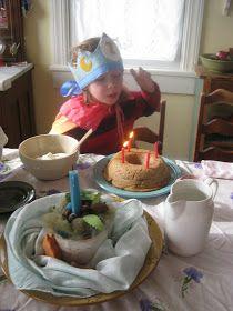 little bits and bobbin: Tasty Thursday: Waldorf Apple Birthday Cake!