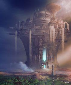 ArtStation - The City of the Ascended, Steve Palmerton