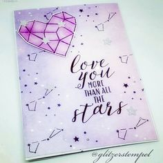 Bald ist Valentinstag ❤ mit dem Stempelset Sternstunden von Stampin' Up!  #stampinup #sternstunden #littletwinkle #stampinupdemo… Stampinup, Stampin Up Cards, Stars, Balea, Ebay, Twitter, Photos, Instagram, Valentines