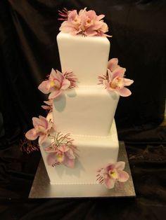 Stylin' crooked cake..