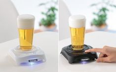 Sonic Hour Beer Head Froth Maker