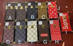 LV(ルイヴィトン)×Supreme(シュプリーム) コラボ iphoneケース Iphone 11 Pro Case, Iphone Cases, Girly, Personalized Items, Holiday Decor, Chanel, Electronics, Outfits, Women's