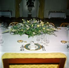 45 best jackie kennedys white house flowers images on pinterest july 311961 republic of china luncheon kennedy white house floral arrangement jfk library photo mightylinksfo