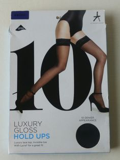 398c343977caa Atmosphere Luxury Gloss Hold Ups Black Medium 10 Denier Appearance. Livia  Crooms · Hosiery & Socks