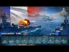 LIVE : World of Warships : Test des Croiseurs Français #2 [WIP]