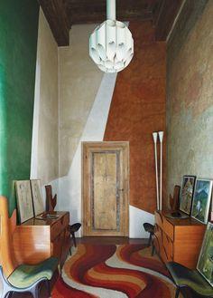 Roberto Baciocchi's home in Arezzo.