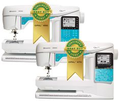 The HUSQVARNA VIKING® OPAL™ 670 and OPAL™ 650 sewing machines received the 2013 Consumers Digest Best Buy Award. According to the publication, products receiving the Best Buy designation merit special attention from consumers based on their combination of eight criteria: performance, ease of use, features, quality of construction, warranty, efficiency, styling, and maintenance and service requirements.