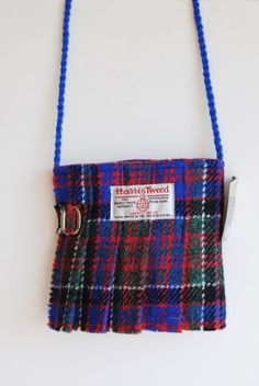 d772769f4993 Small Harris Tweed Shoulder Bag Stunning original shoulder bags in the  shape of a kilt made