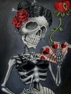 Sugar Skull Art Wallpaper | sexy sugar skull | CrackBerry.com