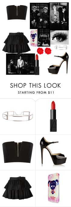 """Date With All Of Exo"" by wu-yifan-kris-exo ❤ liked on Polyvore featuring interior, interiors, interior design, home, home decor, interior decorating, CÉLINE, NARS Cosmetics, Balmain and Brian Atwood"