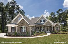 House Plan The Wilkerson by Donald A. Gardner Architects. House Plan # W-PIN-1296