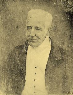 Duke of Wellington, in one of the first photographs ever taken.