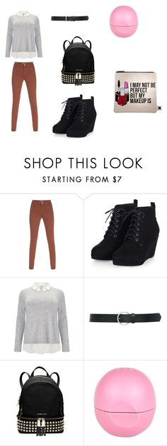 """Back to schooL namber two^_^"" by lady-irakaramel on Polyvore featuring Paul Smith, Studio 8, M&Co, MICHAEL Michael Kors, River Island, Sephora Collection, women's clothing, women, female and woman"