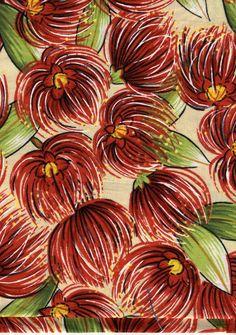 pohutukawa forest, pohutukawa blossoms, christmas tree, Rangitoto Is Kiwiana, Textile Art, Plant Leaves, Christmas Tree, Plants, Pattern, Cream, Yarns, Blossoms