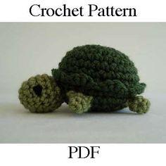 Little Turtle Crochet Pattern
