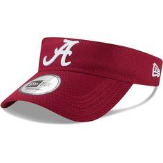 low priced a130f cb779 Alabama Crimson Tide New Era Training Visor - Crimson  AlabamaCrimsonTide  Alabama Crimson Tide Hat,