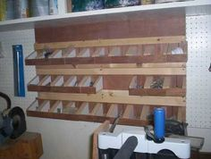 What do you use for nuts bolts screws etc organization for Bolt storage ideas