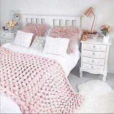 Pink Baby Blanket, Big Knit Blanket, Chunky Blanket, Wool Blanket, Thick Knitted Blanket, Chunky Knit Decke, Chunky Knit Throw, Chunky Yarn, Thick Yarn