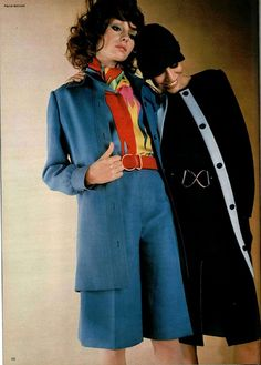 70's fashion - short suits