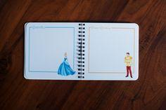 Minnie Mouse Autograph Book. $44.00, via Etsy.